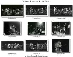 April 9, 1971 Contact Sheet