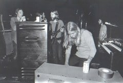 backstage at the fillmore east