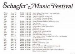 1971 schaefer music festival