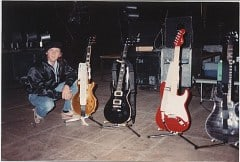 Joe Dan with Guitars