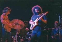 Dickey with Jerry Garcia