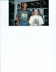 Me and Kirk July 96