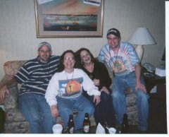 3-20-04 - Saturday at the Hospitality Suite