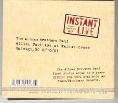 Raleigh, North Carolina Instant Live Back Cover
