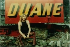 "Duane With ""Duane"" Sign"