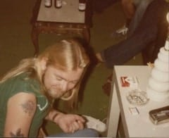 Gregg at Tattoo Party