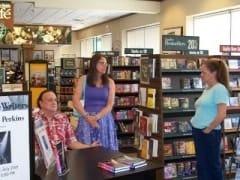 Willie Perkins, Kirsten West, and Judi Petty