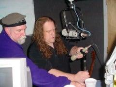 Warren in Studio