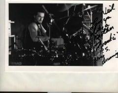 Frankie on Drums