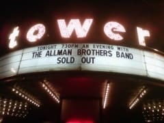 Tower Theater - Sold Out!