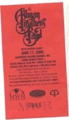 Ticket from 6/17/2000