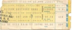 Concert Ticket Stub