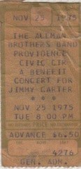 Jimmy Carter/ABB  ticket